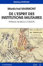 27582 - Marmont, Marechal - De l'esprit des institutions militaires