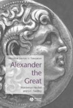 27677 - Hechel-Yardley, W.-J.C - Alexander the Great. Historical sources in translation