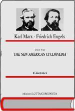 27690 - Marx-Engels, K.-F. - Voci per The New American Cyclopaedia