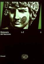 27742 - AAVV,  - Dizionario del Fascismo Vol 2 (L-Z)