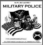 27776 - US Army,  - CD ROM Military Police. 9 US Army Field Manuals
