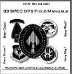 27780 - US Army,  - CD ROM 33 SpecOps Field Manuals
