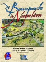 27896 - Raguet, J.C. - De Bonaparte a Napoleon 2e Edition. Regle de jeu avec figurines pour la Revolution et l'Empire