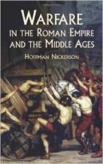 28436 - Nickerson, H. - Warfare in the Roman Empire and the Middle Ages