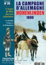 28504 - Tradition, HS - Tradition HS 29: La Campagne d'Allemagne Hohenlinden 1800