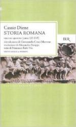 28923 - Cassio Dione,  - Storia romana (Libri LII-LVI) Vol 5