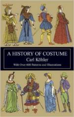 29243 - Koehler-Von Sichart, C.-E. - History of Costume (A)