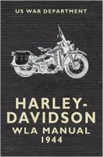 29551 - US War Department,  - Harley Davidson WLA Manual 1944 (The)