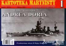 29562 - Brzezinski, S. - Kartoteka Marynisti 01: Andrea Doria, Italian Battleship