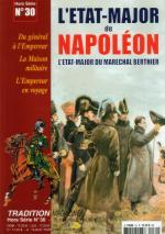 29691 - Tradition, HS - Tradition HS 30: L'Etat Major de Napoleon