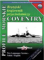29823 - Moscinski-Brzezinski, J.-S. - Profile Morskie 059: HMS Coventry, British Antiaircraft Cruiser ENGLISH