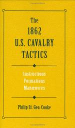 30229 - Geo Cooke, P.St. - 1862 US Cavalry Tactics. Instruction, Formations, Manoeuvres (The)