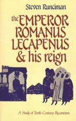 30284 - Runciman, S. - Emperor Romanus Lecapenus and his Reign. A Study of Tenth-Century Byzantium