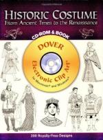30808 - AAVV,  - Historic Costume from Ancient Times to the Renaissance (CD-ROM and Book)