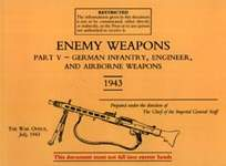 30925 - War Office,  - Enemy Weapons Part V - German Infantry, Engineer and Airborne weapons