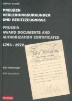 31166 - Raksch, D. - Prussia Award Documents and Authorization Certificates / Preussen Verleihungsurkunden und Besitzzeugnisse 1793-1972