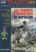 31198 - Tradition, HS - Tradition HS 32: Les Troupes Etrangeres de Napoleon Vol 1