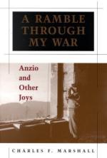 31201 - Marshall, C.F. - Ramble Through My War. Anzio and Other Joys