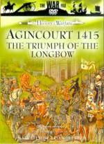 31422 - AAVV,  - History of Warfare: Agincourt 1415. The Triumph of the Longbow DVD