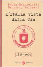 32238 - Mastrolilli-Molinari, P.-M. - Italia vista dalla CIA 1948-2004 (L')