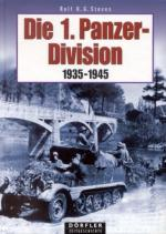 32912 - Stoves, R.O.G. - 1. Panzer Division 1935-1945 (Die)
