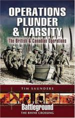 32996 - Saunders, T. - Battleground Europe - Crossing the Rhine: Operation Plunder and Varsity