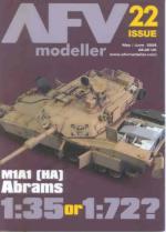 33222 - AFV Modeller,  - AFV Modeller 022. M1A1 1:35 or 1:72?
