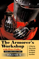 33288 - Fuller, P. - Armorer's Workshop Vol 2. A Step-by-Step Guide to making a Hourglass Gauntlets (The) DVD