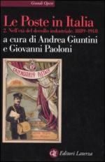 33569 - Giuntini-Paoloni, A.-G. cur - Poste in Italia Vol II: Nell'eta' del decollo industriale 1889-1918