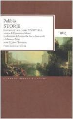 33626 - Polibio,  - Storie. Testo greco a fronte Vol 8: Libri XXXIV-XL