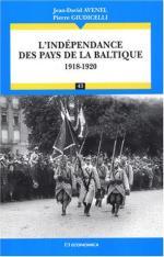 33629 - Avenel, J.D. - Independance des pays de la Baltique 1918-1920