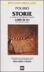 33679 - Polibio,  - Storie. Testo greco a fronte Vol 2: Libri III-IV