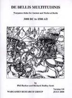 33758 - AAVV,  - DBM - De Bellis Multitudinis. Wargames Rules for Ancient and Medieval Battles 3000 BC-1500 AD