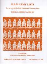 33760 - AAVV,  - DBM Army List Book 1: 3000 BC to 500 BC. 2nd Edition