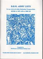33761 - AAVV,  - DBM Army List Book 4: 1071 AD to 1500 AD. 2nd Edition