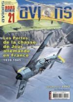33848 - Avions HS, 21 - HS Avions 21: Les pertes de la chasse de jour allemande en France Vol 3: 1942
