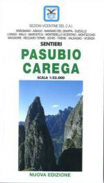 33891 - Balasso-Pigato, B.-S. - Cartina dei Sentieri: Pasubio Carega - Scala 1:25.000
