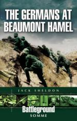 34140 - Sheldon, J. - Battleground Europe - The Germans at Beaumont Hamel