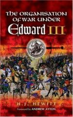 34437 - Hewitt, H.J. - Organization of War Under Edward III (The)