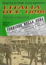 34561 - Colajanni, N. - Italia del 1898. Tumulti e reazione (L')