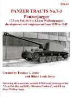 34671 - Jentz-Doyle, T.L.-H.L. - Panzer Tracts 07-3 Panzerjaeger (7,5 cm Pak 40/4 to 8,8 cm Waffentraeger)