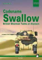 34848 - Oliver, D. - Codename Swallow. British Sherman Tanks at Alamein