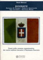 35079 - Matucci, P. - Biografie. Cenni sulle carenze organizzative dei vertici militari durante il Ventennio Fascista