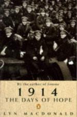 35608 - MacDonald, L. - 1914 the Days of Hope