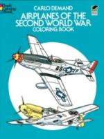 35957 - Demand, C. - Airplanes of the Second World War Coloring Book
