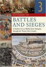 36603 - Jaques, T. - Dictionary of Battles and Sieges. A Guide to 8500 Battles from Antiquity through the Twenty-first Century 3 Voll