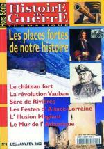 36726 - AAVV,  - HS Histoire de Guerre 04: Les places fortes de notre histoire