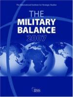 36975 - IISS,  - Military Balance 2007
