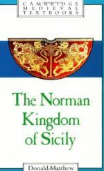 37150 - Matthew, D. - Norman Kingdom of Sicily (The)