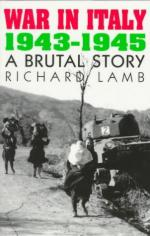 37293 - Lamb, R. - War in Italy 1943-1945. A Brutal Story
